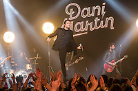 Concert of Dani Martin at Barcelo Club in Madrid, Spain. November 02, 2016. (ALTERPHOTOS/Rodrigo Jimenez)