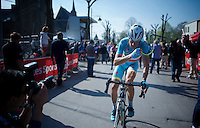 Vincenzo Nibali (ITA/Astana) post-race<br /> <br /> 79th Flèche Wallonne 2015