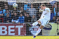 Ryan Allsop of Wycombe Wanderers during the Sky Bet League 2 match between Wycombe Wanderers and Mansfield Town at Adams Park, High Wycombe, England on 25 March 2016. Photo by David Horn.