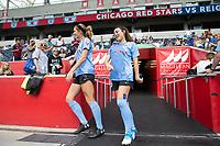 Bridgeview, Illinois- Sunday, June 23, 2019: Reign FC vs the Chicago Red Stars at SeatGeek Stadium.
