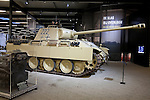 German Panzer tank on display in the Overloon War Museum, Boxmeer, The Netherlands