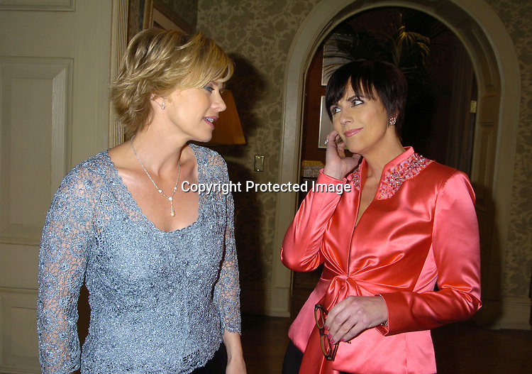 Mary Beth Evans and Colleen Zenk Pinter..at the As The World Turns 49th Anniversary Party on ..March 30, 2005 at their studio in Brooklyn, New York. ..Photo by Robin Platzer, Twin Images