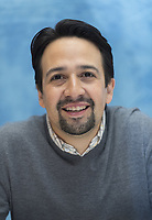 Lin-Manuel Miranda at the Mary Poppins Returns press conference at the Four Seasons Hotel, Beverly Hills, USA - 29 Nov 2018. Credit: Action Press/MediaPunch ***FOR USA ONLY***