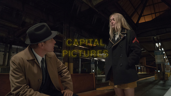 American Pastoral (2016) <br /> Swede Levov (Ewan McGregor) and Merry Levov (Dakota Fanning) <br /> *Filmstill - Editorial Use Only*<br /> CAP/KFS<br /> Image supplied by Capital Pictures