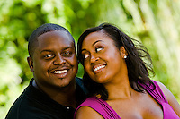 Trai Essex and Christina Freeman engagement photos at Piedmont Park, Atlanta, GA