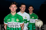 Legion and Kerry stars Jonathan Lyne, Brian Kelly and James O'Donoghue who will contest this years County Championship final