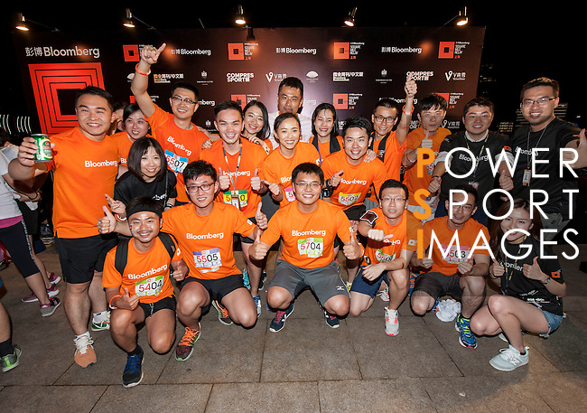 Post-Race activities at the Bloomberg Square Mile Relay near the Huangpu River in Shanghai, China.  Photo by Marcio Machado / Power Sport Images