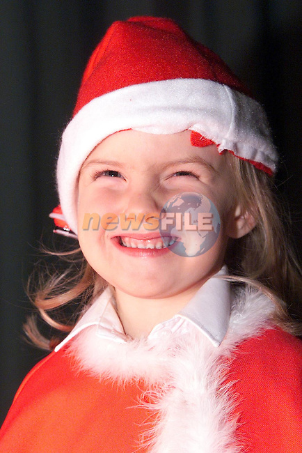 Fiona O'Brien from Ardee who took part in the Mary Simpson Stage School Christmas Show..Picture Paul Mohan Newsfile