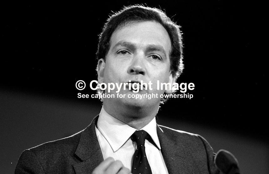 Mark Robinson, MP, Conservative Party, junior agriculture secretary, UK, 19871037MR.<br />