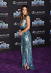 HOLLYWOOD, CA - JANUARY 29: Actor Chloe Bennet attends the premiere of Disney and Marvel's 'Black Panther' at  the Dolby Theater on January 28, 2018 in Hollywood, California.