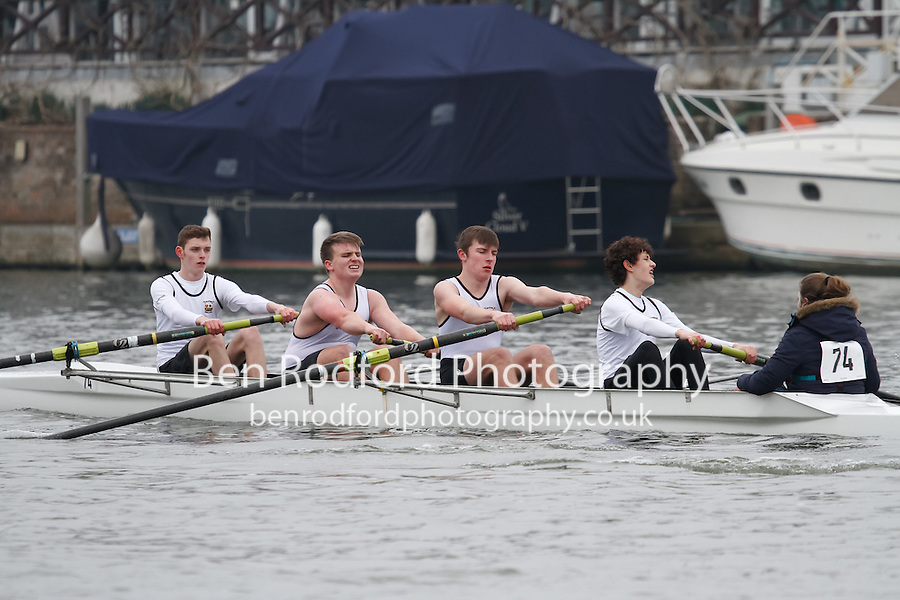 Crew: 74 - Coalporters  - NOV.4+ <br /> <br /> Henley Fours &amp; Eights Head 2017<br /> <br /> To purchase this photo, or to see pricing information for Prints and Downloads, click the blue 'Add to Cart' button at the top-right of the page.