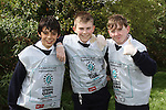 St Mary's students, Nicolas Mullen, Samuel Howard and Dylan Mallon taking part in National Spring Clean Week...(Photo credit should read Jenny Matthews www.newsfile.ie)....This Picture has been sent you under the conditions enclosed by:.Newsfile Ltd..The Studio,.Millmount Abbey,.Drogheda,.Co Meath..Ireland..Tel: +353(0)41-9871240.Fax: +353(0)41-9871260.GSM: +353(0)86-2500958.email: pictures@newsfile.ie.www.newsfile.ie.