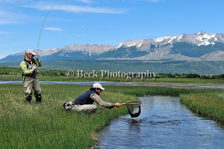 Fly Fishing Spring Creek Patagonia