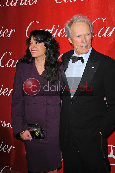 Clint Eastwood and wife Dina<br />
