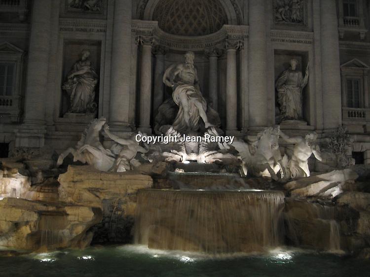 Trevi Fountain - Rome