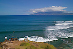 Honolua Bay is located on the northwestern coast of Maui, about 10 miles north of Lahaina along Honoapi`ilani Highway (Hwy 30). The bay is the only one in the area visible from the highway. Parking is available only alongside the highway.