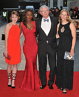 Amma Asante ( 2nd left ) and her family at the 60th BFI London Film Festival &quot;A United Kingdom&quot; opening gala, Odeon Leicester Square cinema, Leicester Square, London, England, UK, on Wednesday 05 October 2016.<br /> CAP/CAN<br /> &copy;CAN/Capital Pictures /MediaPunch ***NORTH AND SOUTH AMERICAS ONLY***