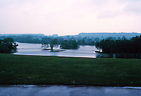Sir John Vanbrugh: Castle Howard. Landscaping and lake south of castle. Photo '90.