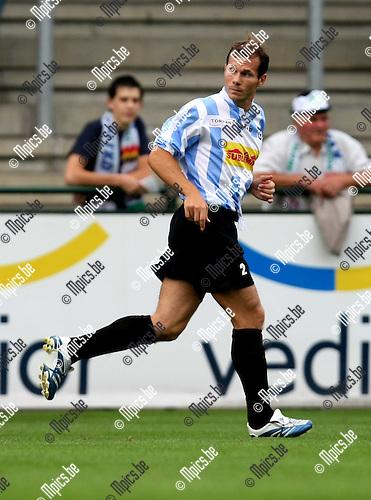 2008-08-09 / Voetbal / seizoen 2008-2009 / Verbroedering Geel-Meerhout / Tom Vandervee..Foto: Maarten Straetemans (SMB)