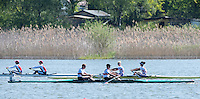 Brandenburg. GERMANY.<br /> Training Lanes warm Warm Down. 2016 European Rowing Championships at the Regattastrecke Beetzsee<br /> <br /> Saturday  07/05/2016<br /> <br /> [Mandatory Credit; Peter SPURRIER/Intersport-images]