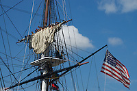 "USS Constitution ""Old Ironsides"" Sail Furling"""