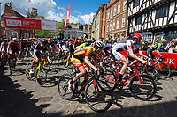Picture by Alex Whitehead/SWpix.com - 14/05/2017 - Cycling - 2017 HSBC UK   Spring Cup Road Series - Lincoln Grand Prix - start