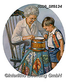 CHILDREN, KINDER, NIÑOS, paintings+++++,USLGSK0134,#K#, EVERYDAY ,Sandra Kock, victorian