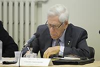 Claude Castonguay, le pere de l'assurance maladie au Quebec,<br />  en 2015.<br /> <br /> PHOTO :  Agence Quebec Presse