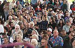 Friends and family members look for their graduates at the 45th annual Western Nevada College Commencement ceremony in Carson City, Nev., on Monday, May 23, 2016. A record 556 graduates received 598 degrees.<br />