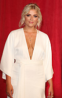 Lucy Fallon at The British Soap Awards 2019 arrivals. The Lowry, Media City, Salford, Manchester, UK on June 1st 2019<br /> CAP/ROS<br /> ©ROS/Capital Pictures