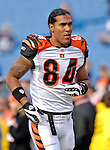 4 November 2007: Cincinnati Bengals wide receiver T.J. Houshmandzadeh warms up prior to a game against the Buffalo Bills at Ralph Wilson Stadium in Orchard Park, NY. The Bills defeated the Bengals 33-21 in front of a sellout crowd of 70,745...Mandatory Photo Credit: Ed Wolfstein Photo