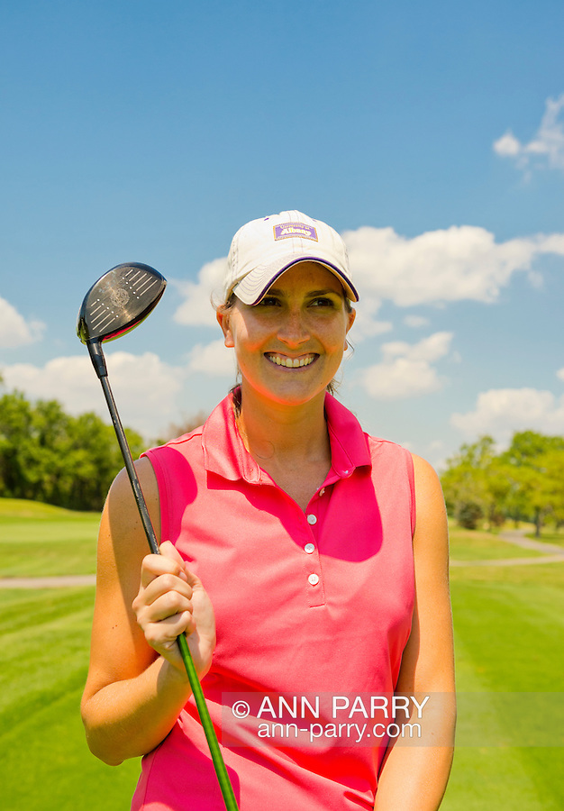 Oceanside, New York, USA. 2nd August 2013. LAUREN BRUCE, of Oceanside, is golfing at South Bay Country Club.<br /> | You/Your Property in photo? Mention that when you use CONTACT page: http://ann-parry.photoshelter.com/contact