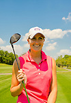 Oceanside, New York, USA. 2nd August 2013. LAUREN BRUCE, of Oceanside, is golfing at South Bay Country Club.<br />