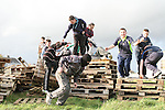 Bonfire building on Marleys Lane...Photo NEWSFILE/Jenny Matthews.(Photo credit should read Jenny Matthews/NEWSFILE)....This Picture has been sent you under the condtions enclosed by:.Newsfile Ltd..The Studio,.Millmount Abbey,.Drogheda,.Co Meath..Ireland..Tel: +353(0)41-9871240.Fax: +353(0)41-9871260.GSM: +353(0)86-2500958.email: pictures@newsfile.ie.www.newsfile.ie.FTP: 193.120.102.198.