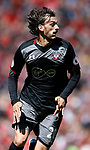 Manolo Gabbiadini of Southampton during the English Premier League match at Anfield Stadium, Liverpool. Picture date: May 7th 2017. Pic credit should read: Simon Bellis/Sportimage