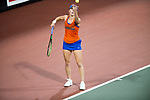 ATHENS, GA - MAY 23: Belinda Woodcock of the University of Florida competes in the Division I Women's Tennis Championship held at the Dan Magill Tennis Complex on the University of Georgia campus on May 23, 2017 in Athens, Georgia. (Photo by Steve Nowland/NCAA Photos via Getty Images)