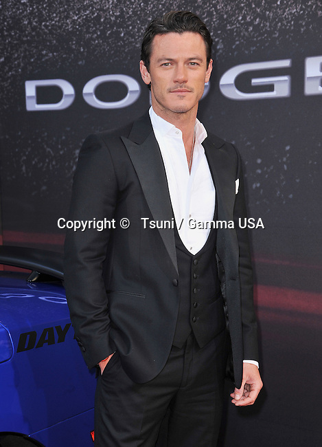 Luke Evans   at the Fast And Furious 6 Premiere at the Universal Amphitheatre in Los Angeles.