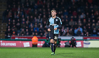 Jason McCarthy of Wycombe Wanderers during the Sky Bet League 2 match between Wycombe Wanderers and Luton Town at Adams Park, High Wycombe, England on 6 February 2016. Photo by Andy Rowland.