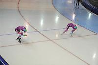 SCHAATSEN: GRONINGEN: Sportcentrum Kardinge, 17-01-2015, KPN NK Sprint, Michel Mulder, Pim Schipper, ©foto Martin de Jong