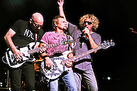 Supergroup Chickenfoot perform at The Beacon Theater NYC on 08/18/2009