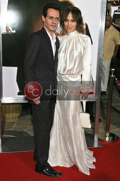 Marc Anthony and Jennifer Lopez<br />at the premiere of &quot;The Pursuit of Happyness&quot;. Mann Village Theatre, Westwood, CA. 12-07-06<br />Dave Edwards/DailyCeleb.com 818-249-4998