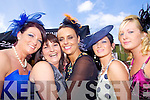 Enjoying the form last Friday afternoon in Listowel for Ladies Day were Abbeyfeale girls Katherine Gavin, Sheila O'Sullivan, Natasha O'Connor and Charlene Dillon.