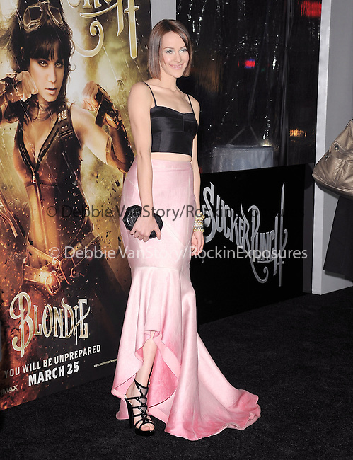 Jena Malone at The Warner Bros. Pictures World Premiere of Sucker Punch held at The Grauman's Chinese Theatre in Hollywood, California on March 23,2011                                                                               © 2010 Hollywood Press Agency