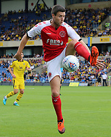 Fleetwood Town's Bobby Grant in action<br /> <br /> Photographer David Shipman/CameraSport<br /> <br /> The EFL Sky Bet League One - Oxford United v Fleetwood Town - Saturday August 11th 2018 - Kassam Stadium - Oxford<br /> <br /> World Copyright &copy; 2018 CameraSport. All rights reserved. 43 Linden Ave. Countesthorpe. Leicester. England. LE8 5PG - Tel: +44 (0) 116 277 4147 - admin@camerasport.com - www.camerasport.com