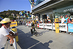 Thomas Leezer (NED) Team LottoNL-Jumbo during Stage 1 of the La Vuelta 2018, an individual time trial of 8km running around Malaga city centre, Spain. 25th August 2018.<br /> Picture: Ann Clarke | Cyclefile<br /> <br /> <br /> All photos usage must carry mandatory copyright credit (© Cyclefile | Ann Clarke)