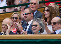 England's Director of Cricket and former International, Andrew Strauss<br /> <br /> Photographer Ashley Western/CameraSport<br /> <br /> Wimbledon Lawn Tennis Championships - Day 3 - Wednesday 5th July 2017 -  All England Lawn Tennis and Croquet Club - Wimbledon - London - England<br /> <br /> World Copyright &not;&copy; 2017 CameraSport. All rights reserved. 43 Linden Ave. Countesthorpe. Leicester. England. LE8 5PG - Tel: +44 (0) 116 277 4147 - admin@camerasport.com - www.camerasport.com