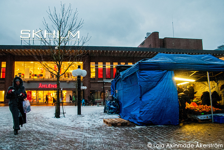 Winter scenes in Stockholm