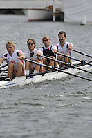 Henley, GREAT BRITAIN, Prince of Wales Challenge Cup, Leander Club and London Rowing Club, Bow simon JONES, Alastair LEIGHTON-CRAWFORD, Rob WILLIAMS and Matt BEECHEY, 2008 Henley Royal Regatta  on Saturday, 05/07/2008,  Henley on Thames. ENGLAND. [Mandatory Credit:  Peter SPURRIER / Intersport Images] Rowing Courses, Henley Reach, Henley, ENGLAND . HRR
