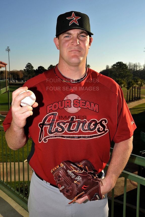 Feb 25, 2010; Kissimmee, FL, USA; The Houston Astros pitcher Jeff Fulchino (47) during photoday at Osceola County Stadium. Mandatory Credit: Tomasso De Rosa/ Four Seam Images