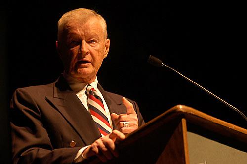 16362Baker Peace Conference Zbigniew Brzezinski: Speaker: Photos by Johnny Hanson